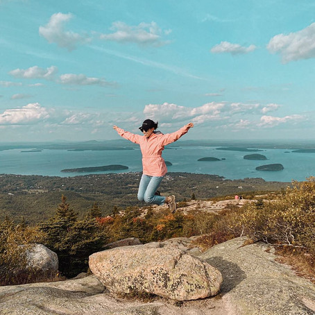 [여행지/메인 Bar Harbor/자연] Cadillac Mountain