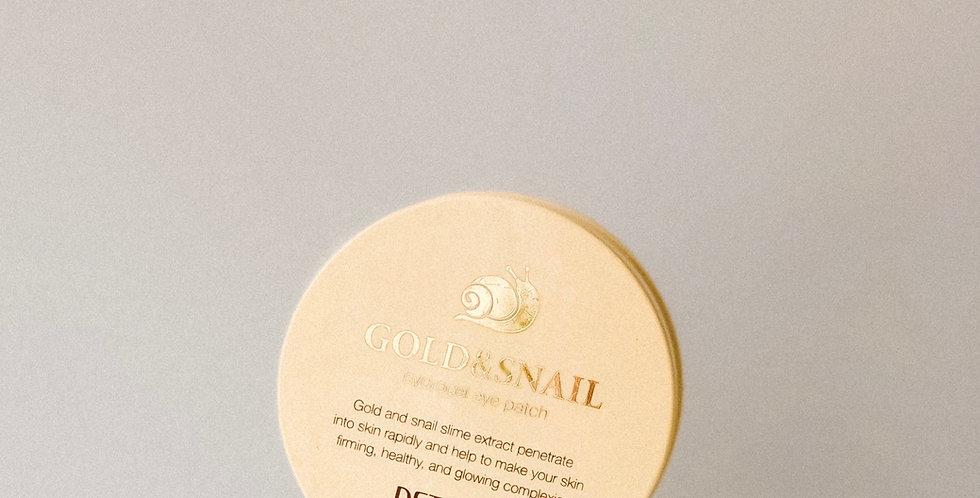 [PETITFEE] Gold & Snail Hydrogel Eye Patch