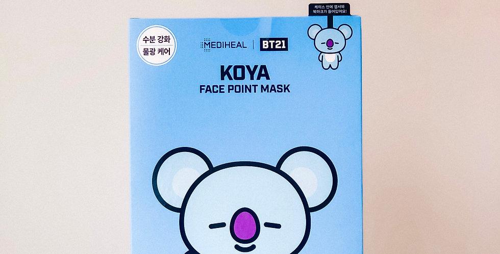 [MEDIHEAL] BT21 Face Point Mask - KOYA