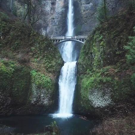 [여행지/오레곤 Portland/폭포] Multnomah Falls