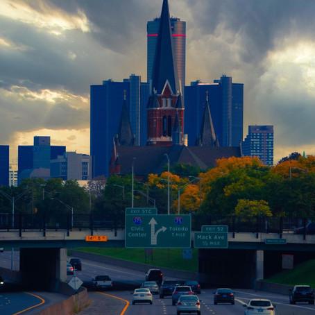 [여행지/미시간 Detroit/풍경] Detroit City View