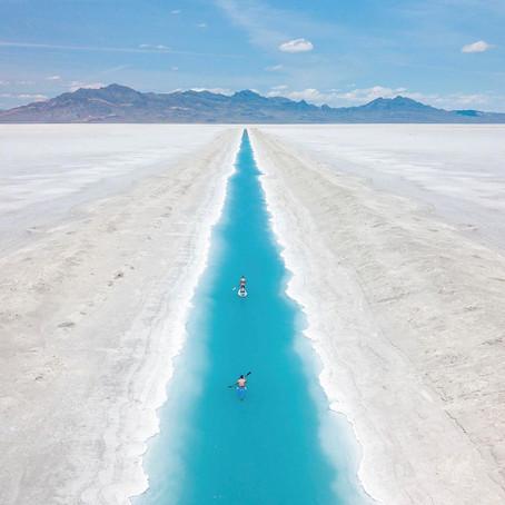 [여행지/유타 Bonneville/자연] Bonneville Salt Flats