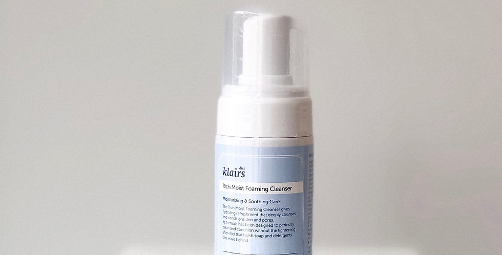 [Klairs] Rich Moist Foaming Cleanser