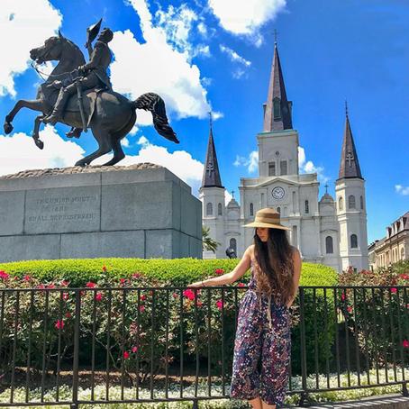 [여행지/루이지애나 New Orleans/성당] St. Louis Cathedral