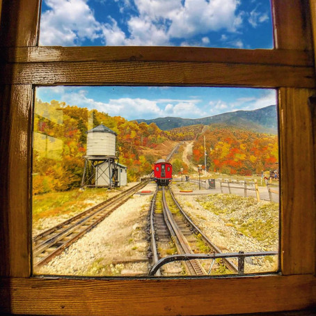 [여행지/뉴햄프셔 Bretton Woods/기차] The Mount Washington Cog Railway