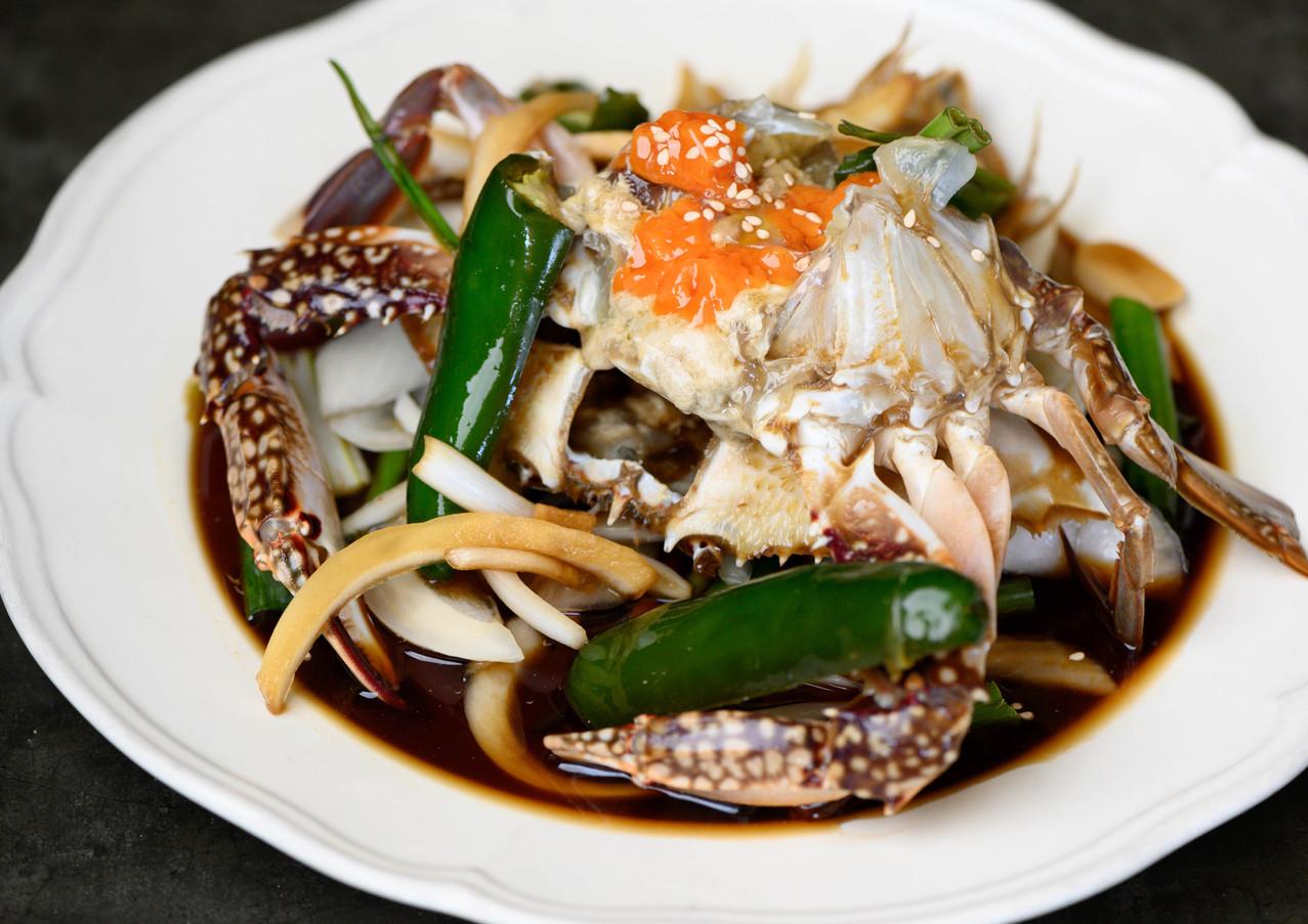 Soy Sauce Marinated Raw Crab
