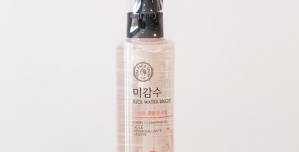 [The Face Shop] Rice Water Bright Light Oil Cleanser