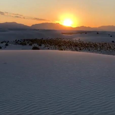 [여행지/뉴멕시코 El Paso/국립공원] White Sands national Park