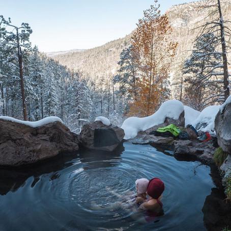[여행지/뉴멕시코 Jemez Springs/산] Jemez Mountain Springs
