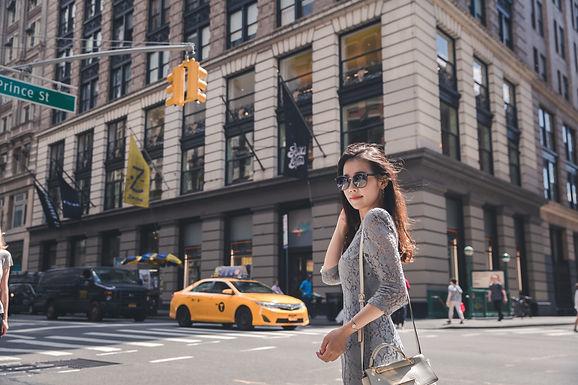 [스냅투어/뉴욕] 뉴욕의 소호 + 워싱턴스퀘어파크에서 인생샷 남기기