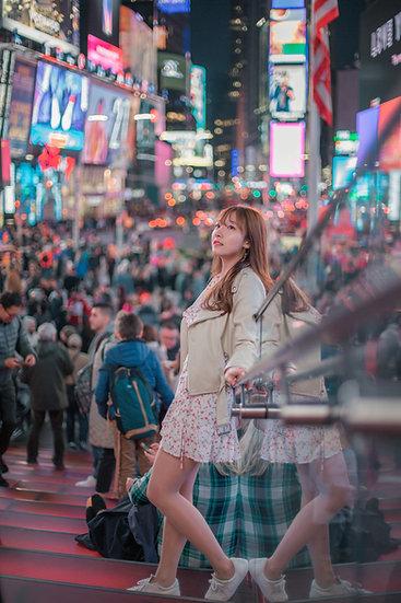 [스냅투어/뉴욕] 뉴욕의 중심 미드타운 야경을 배경으로 인생샷