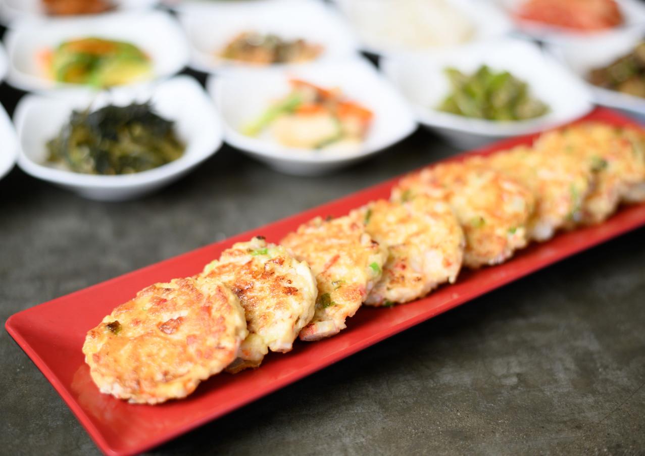 Seafood & Tofu Pancake