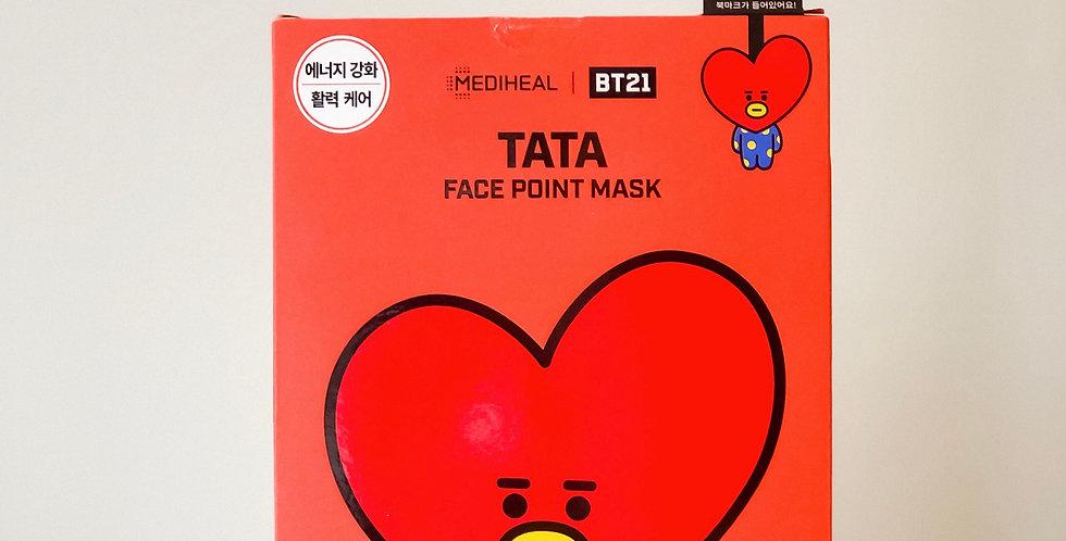 [MEDIHEAL] BT21 Face Point Mask - TATA