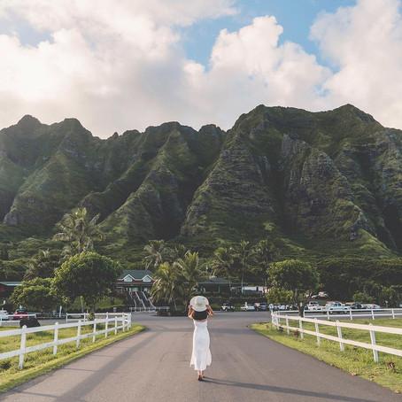 [여행지/하와이 Kaneohe/자연] Kualoa Ranch