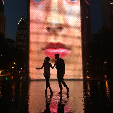 [여행지/일리노이 Chicago/공원] Crown Fountain