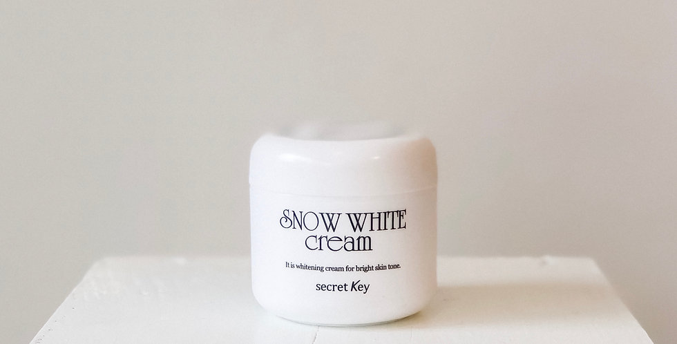 [SECRET KEY] Snow White Cream