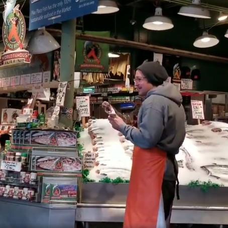 [여행지/워싱턴 Seattle/시장] Pike Place Market