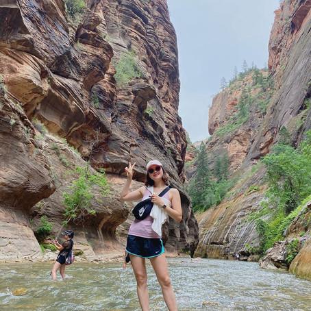 [여행지/유타 Zion National Park/계곡] The Narrows