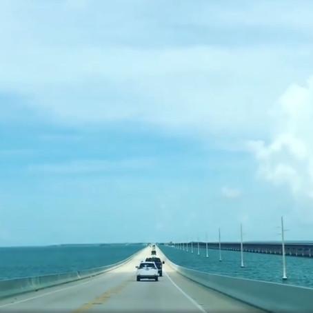 [여행지/플로리다 Key West/고속도로] Overseas Highway
