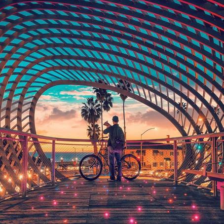 [여행지/캘리포니아 Santa Monica/공원] Tongva park