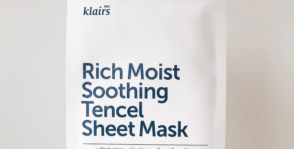 [KLAIRS] Rich Moist Soothing Tencel Sheet Mask