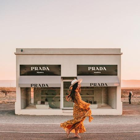 [여행지/텍사스 Valentine/관광지] Prada Marfa and Tiny Target