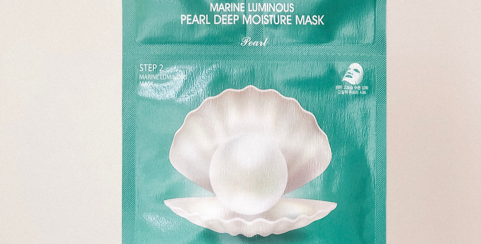 [JM Solution] Marine Luminous Pearl Deep Moisture Mask