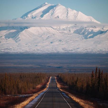 [여행지/알래스카 Glennallen/자연] Glennallen Highway