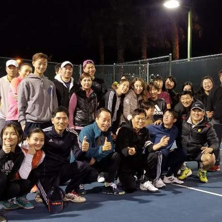 [미국 월간모임 30호] 라스베가스 테니스 동호회, TEC'L