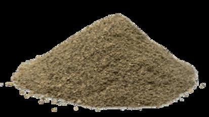 Poivre noir moulu en tube de 25g