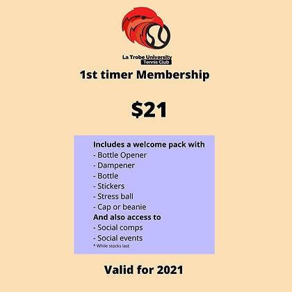 LTU Tennis Club 2021 First Timer