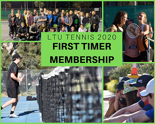LTU Tennis 2020 First Timer Membership