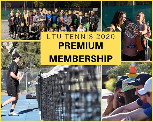 LTU Tennis 2020 Premium Membership