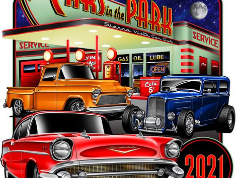 Cars in the Park, Sierra Vista, AZ - 9 Oct 2021