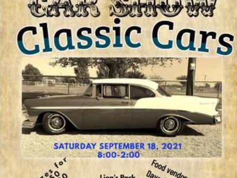 "Classic Cars ""Off Main"" Car Show, Benson, AZ"
