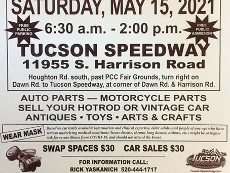 Tucson Street Rod Association - SWAP Meet!