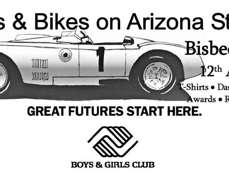 Cars & Bikes on Arizona Street (Postponed)
