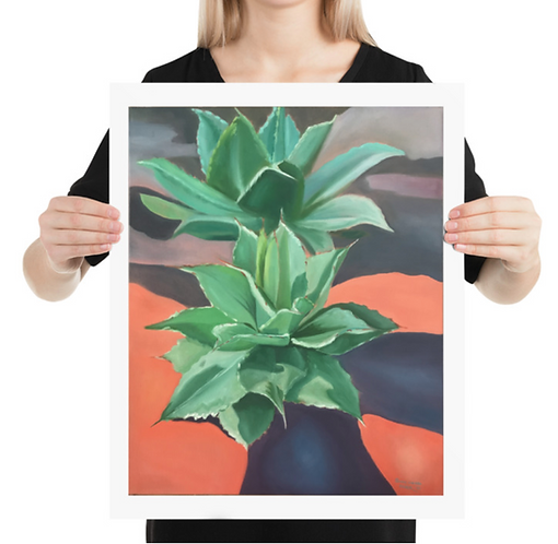 """""""Agave"""" Print 16x20in"""