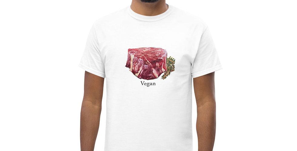 Freaking Vegan Filet Painting