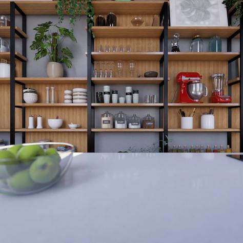 Vento Sul Arquitetura   Cozinha Seletiva Archaton CASACOR 2017