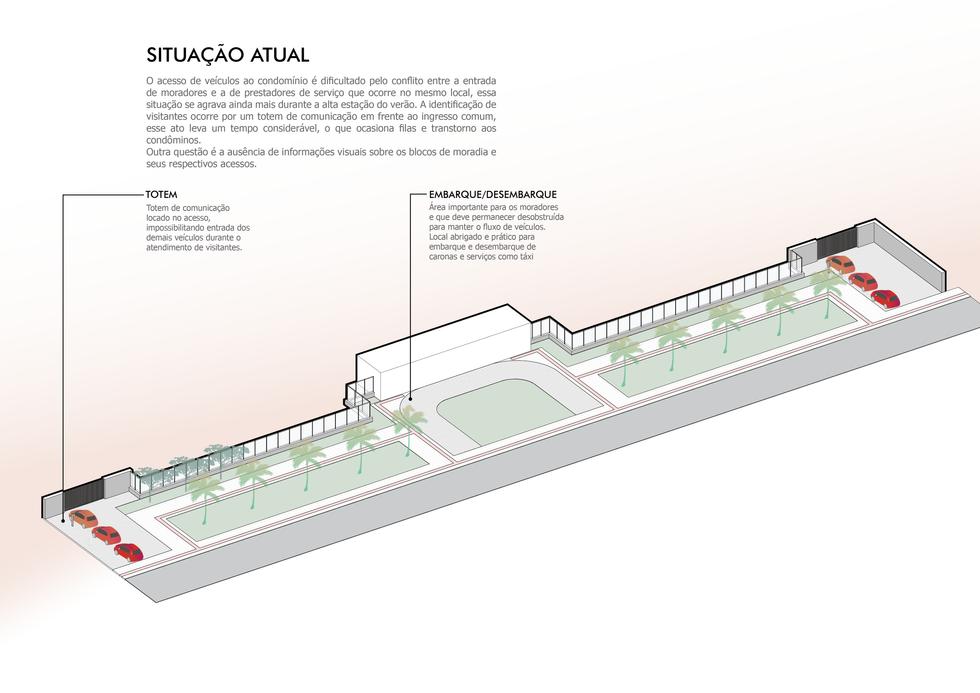Vento Sul Arquitetura | Acesso condomínio