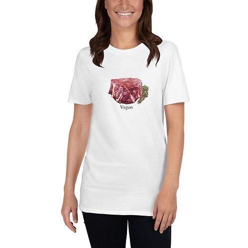 Freaking Vegan Filet Painting  Short-Sleeve Unisex T-Shirt