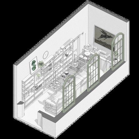 Vento Sul Arquitetura | Cozinha Seletiva Archaton CASACOR 2017