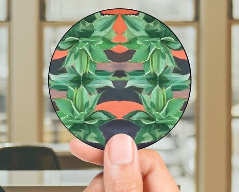 Trippy Agave Sticker