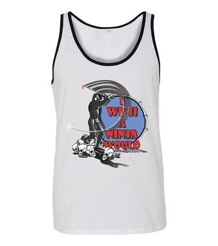 I Wish a Ninja Would Jersey Tank
