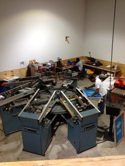 Automatic Silk Screen Press