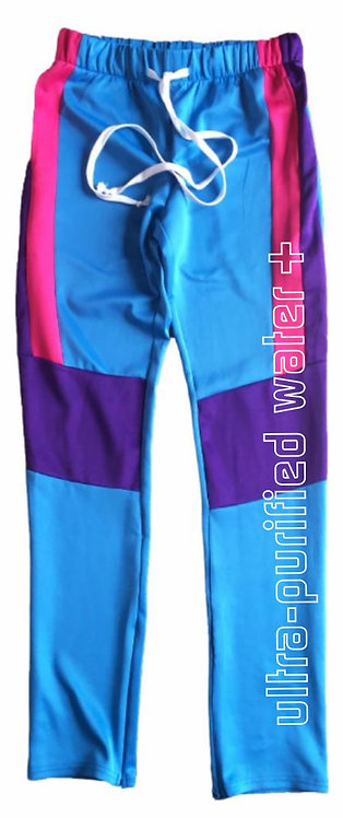 Level Water Color Block Track Pants