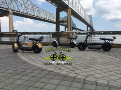 Electric Cycles on the River