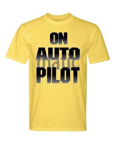 On Auto Pilot Short Sleeve Tee