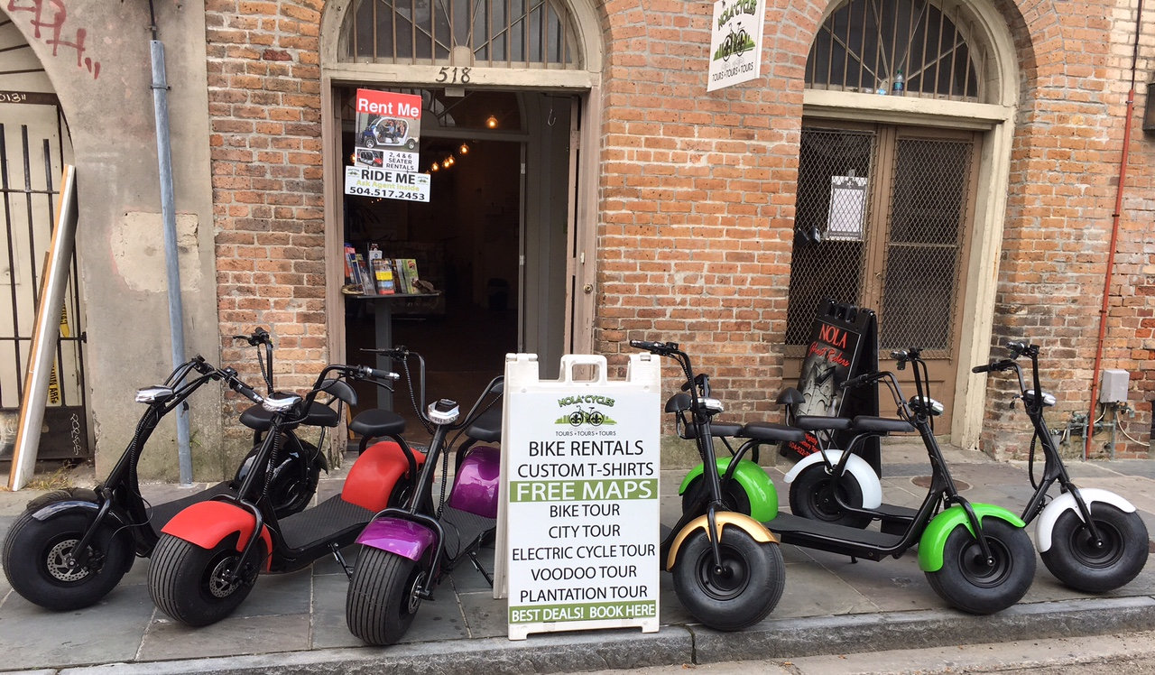 Electric Scooter Rental (Quick View)